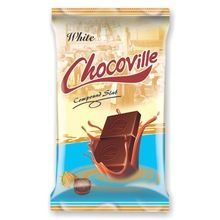 Chocoville White Compound Chocolate Slab