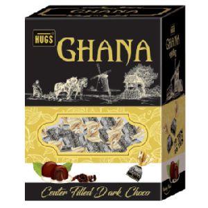 Hugs Ghana Twist Family Pack - Moulded Dark Chocolate