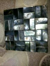 Black Natural Mother Of Pealrs Tiles