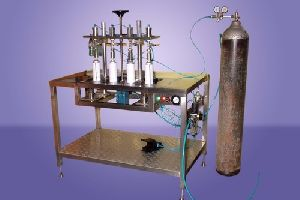 4 Head CO2 Gas Filling Mchine