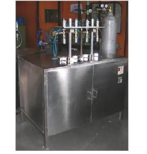 8 Head Co2 Gas Filling Machine