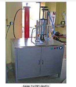Aerosol Gas Filling Machine