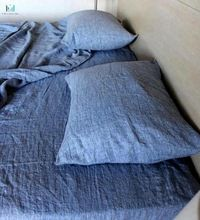 Blue Denim Color Bedsheet Set