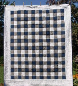 Rustic Patchwork Toddler Buffalo Check