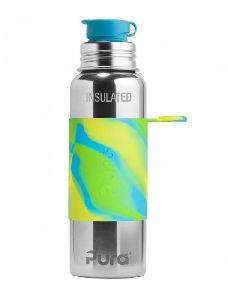 Pura Kiki 22oz Vacuum Insulated Stainless Steel Sports Bottle