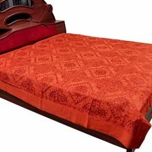 Cotton Embroidered Bedspread