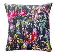 Cotton Kantha Sofa Cushion Covers