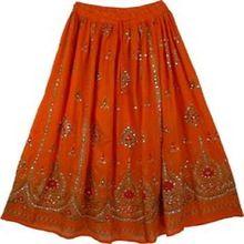 Rayon Silk Skirts