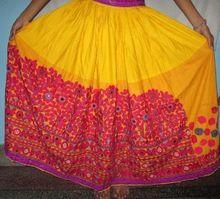 Vintage Banjara Cotton Skirt