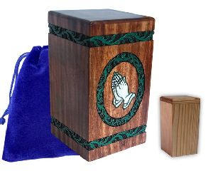 Wooden Urn Boxes