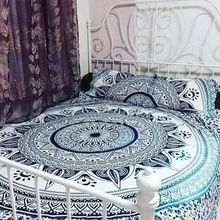 Hand Print Colorful Bedsheet