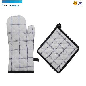 Heat Resistant Pot Holder Gloves