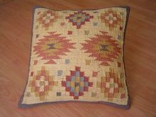 wool kilim pillow
