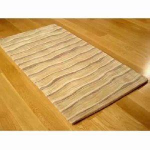 Wool Silk Hand Tufted Carpet