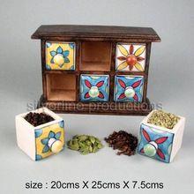 Kitchen Spice Cabinet