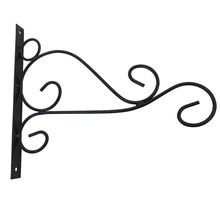 Iron Scroll Garden Flag Wall Bracket