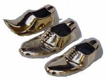 Cast Brass Shoe Ashtray