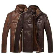 Trendy Travel Trip New Style Leather Mens Jacket