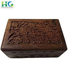 Small Wooden Jewelry Box Gift Packing Purpose
