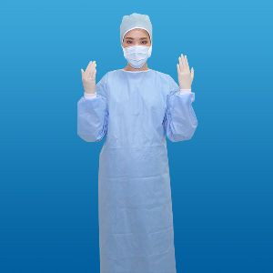 Women Non Woven Surgical Gown
