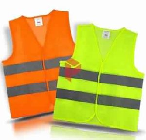 Safety Jacket with 2 Reflective Straps