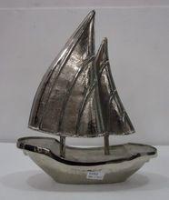 Home Decor Metal Craft Boat