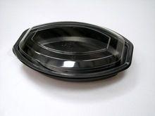 Black Deli Container