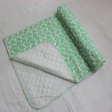 Cotton Baby Kantha Quilt