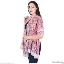 Cotton Hand Block Print Large Sarong