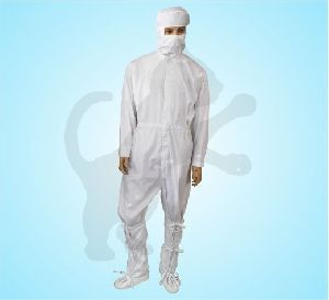 Antistatic Coveralls With Hood And Booties