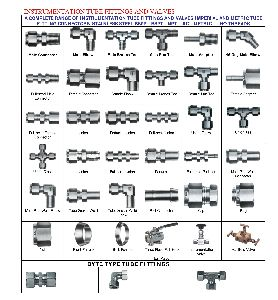 Ss And Brass Tube Fittings (ferrule And Push Type)