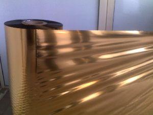 Gold Metallized Pet Film