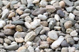 pebble stone and cube stone