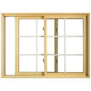 Wooden Glass Sliding Window
