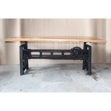 Antique Crank Dining Table