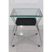Glass Rope Side End Table