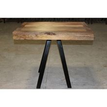 Wooden Iron Dining Table