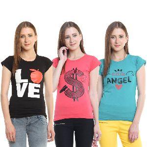 Ladies Printed T Shirts