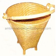 Cane Wicker Basket