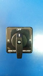 Ampere Meter Selector Switch