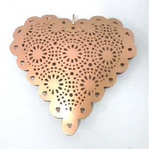 Heart Shaped Hanging Christmas Tree Ornament