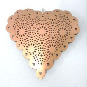 Heart Shaped Hanging Christmas Tree Ornament