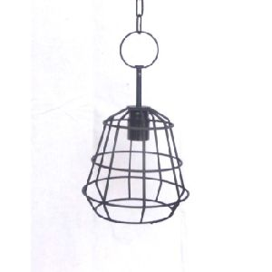 Metal Wire Hanging Lamp Shade