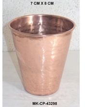Copper Drinking Glasses