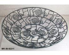 Wrought Iron Decorative Fruit Bowls