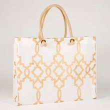 Jute Bags With Cotton Handle And Recoverable Jute Hand Bag
