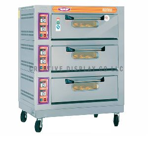 Electric Oven 3 Decks 9 Trays