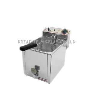 Lectric Fryer 10 Liter Beckers Made In Italy