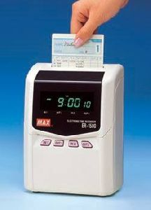 Max Electronic Time Recorder