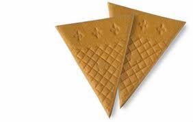 Fan Wafer Biscuit